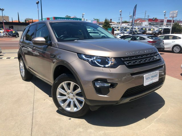 Used Land Rover Discovery Sport LC MY16.5 SE Victoria Park, 2015 Land Rover Discovery Sport LC MY16.5 SE Bronze 9 Speed Automatic Wagon