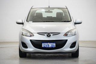 2012 Mazda 2 DE10Y2 MY12 Neo Silver 4 Speed Automatic Hatchback.