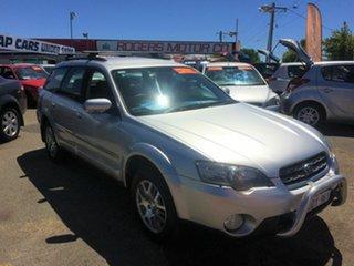 2005 Subaru Outback MY05 2.5i AWD Silver 4 Speed Auto Elec Sportshift Wagon.