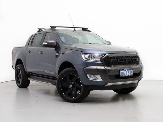 Used Ford Ranger PX MkII Wildtrak 3.2 (4x4), 2015 Ford Ranger PX MkII Wildtrak 3.2 (4x4) Grey 6 Speed Automatic Dual Cab Pick-up