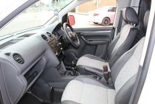 2010 Volkswagen Caddy 2K MY11 TDI250 White 5 Speed Manual Van