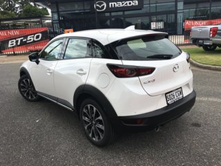 2020 Mazda CX-3 DK2W7A sTouring SKYACTIV-Drive FWD White Pearl 6 Speed Sports Automatic Wagon