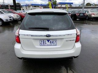 2008 Subaru Outback MY08 2.5I Luxury Edition White 5 Speed Manual Wagon