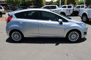 2015 Ford Fiesta WZ MY15 Sport Silver 5 Speed Manual Hatchback