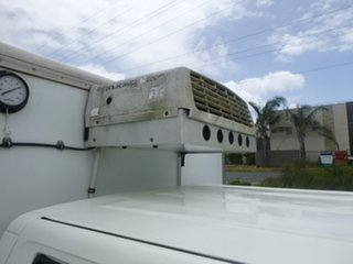 2002 Holden Rodeo TF LX White Manual Utility