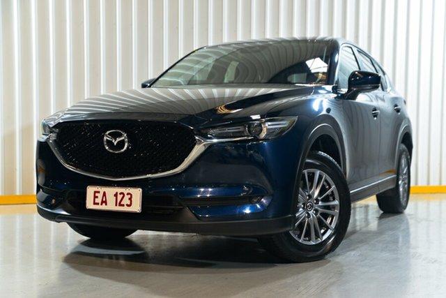 Used Mazda CX-5 KF4W2A Maxx SKYACTIV-Drive i-ACTIV AWD Sport Hendra, 2017 Mazda CX-5 KF4W2A Maxx SKYACTIV-Drive i-ACTIV AWD Sport Blue 6 Speed Sports Automatic Wagon