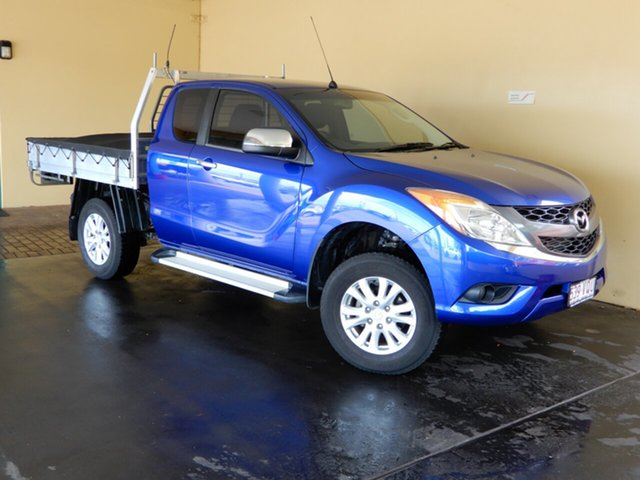 Used Mazda BT-50 MY13 XTR (4x4) Toowoomba, 2015 Mazda BT-50 MY13 XTR (4x4) Blue 6 Speed Automatic Freestyle Utility