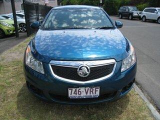 2011 Holden Cruze JH MY12 CD Blue 6 Speed Automatic Hatchback.