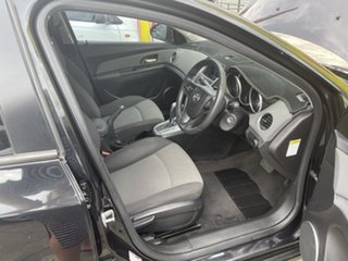 2010 Holden Cruze JG CD Black 6 Speed Sports Automatic Sedan.