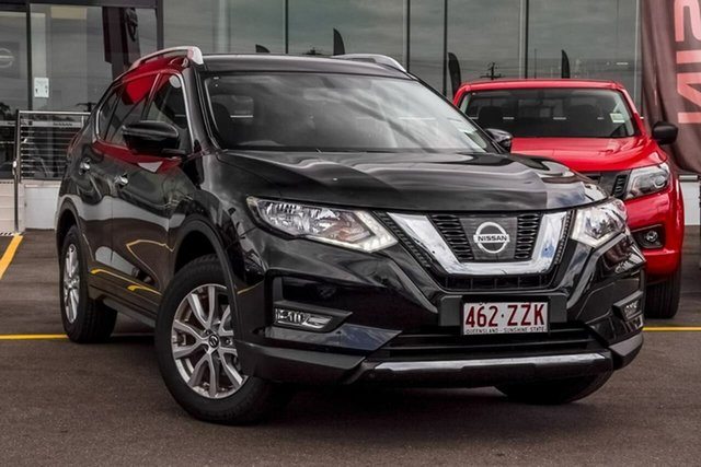 Demo Nissan X-Trail T32 Series III MY20 ST-L X-tronic 2WD Aspley, 2020 Nissan X-Trail T32 Series III MY20 ST-L X-tronic 2WD Diamond Black 7 Speed Constant Variable