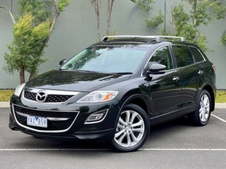 2011 Mazda CX-9 TB10A4 MY12 Luxury Black 6 Speed Sports Automatic Wagon.