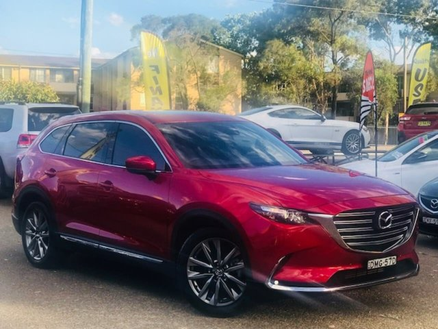 Used Mazda CX-9 TC GT SKYACTIV-Drive Liverpool, 2017 Mazda CX-9 TC GT SKYACTIV-Drive Red 6 Speed Sports Automatic Wagon