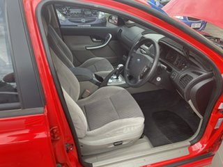 2008 Ford Falcon BF Mk III XT Red 4 Speed Sports Automatic Wagon
