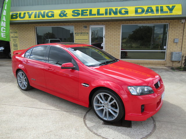 Used Holden Commodore VE SS Mandurah, 2008 Holden Commodore VE SS Red 6 Speed Manual Sedan