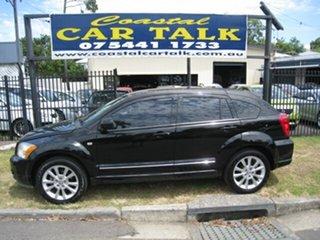 2011 Dodge Caliber PM MY10 SXT Black 6 Speed CVT Auto Sequential Hatchback.