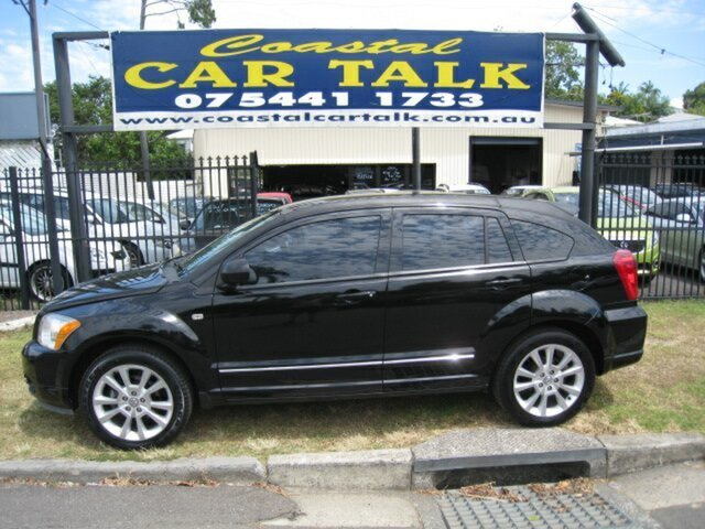 Used Dodge Caliber PM MY10 SXT Nambour, 2011 Dodge Caliber PM MY10 SXT Black 6 Speed CVT Auto Sequential Hatchback