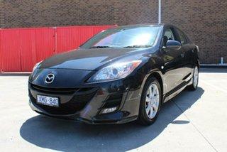 2010 Mazda 3 BL 10 Upgrade Maxx Black 5 Speed Automatic Sedan