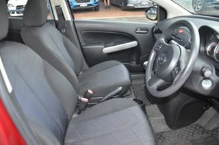2012 Mazda 2 DE MY12 Neo Maroon 5 Speed Manual Hatchback