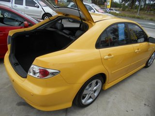 2002 Mazda 6 GG1031 Luxury Sports Yellow 4 Speed Sports Automatic Hatchback