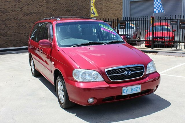 Used Kia Carnival LS Hoppers Crossing, 2003 Kia Carnival LS Burgundy 4 Speed Automatic Wagon