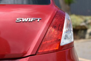 2014 Suzuki Swift FZ MY14 GL Red 5 Speed Manual Hatchback