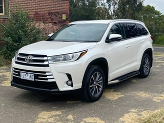 2017 Toyota Kluger GSU55R GXL White Sports Automatic Wagon.