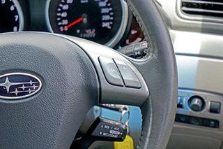 2011 Subaru Tribeca B9 MY11 R AWD Premium Pack Silver 5 Speed Sports Automatic Wagon