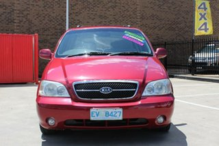 2003 Kia Carnival LS Burgundy 4 Speed Automatic Wagon.