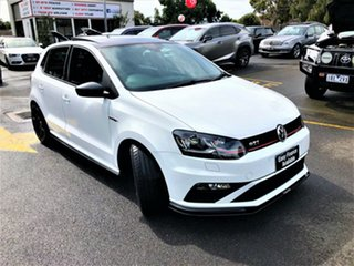 2016 Volkswagen Polo 6R MY16 GTi White 6 Speed Manual Hatchback