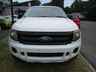 2012 Ford Ranger PX XL 2.2 (4x2) White 6 Speed Manual Utility.