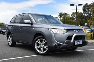 2013 Mitsubishi Outlander ZJ MY13 ES 4WD Grey 6 Speed Constant Variable Wagon.