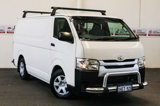 2016 Toyota HiAce KDH201R MY16 LWB French Vanilla 5 Speed Manual Van.