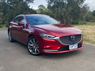 2019 Mazda 6 GL Series Atenza Red Sports Automatic Sedan.