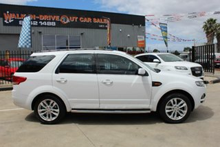 2012 Ford Territory SZ TS (RWD) White 6 Speed Automatic Wagon