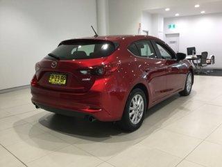 2017 Mazda 3 BN5478 Maxx SKYACTIV-Drive Red 6 Speed Sports Automatic Hatchback.