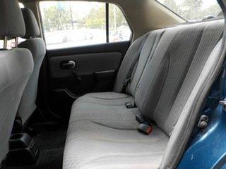 2009 Nissan Tiida C11 MY07 ST Blue 6 Speed Manual Sedan