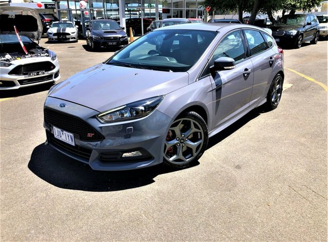 Used Ford Focus LZ ST Seaford, 2017 Ford Focus LZ ST Grey 6 Speed Manual Hatchback