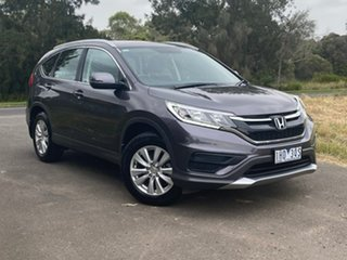 2016 Honda CR-V RM Series II VTi Grey Automatic Wagon.