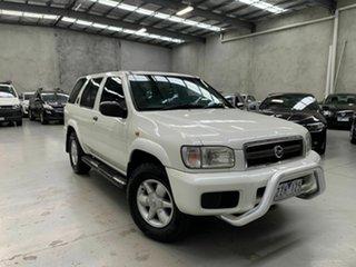 2002 Nissan Pathfinder WX II MY2002 ST Plus White 4 Speed Automatic Wagon.