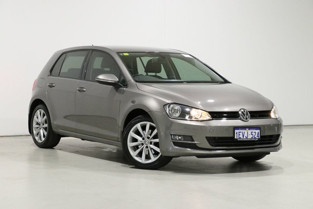 Used Volkswagen Golf AU MY16 110 TSI Highline Bentley, 2015 Volkswagen Golf AU MY16 110 TSI Highline Grey 7 Speed Auto Direct Shift Hatchback