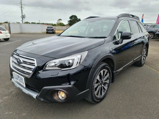 2016 Subaru Outback B6A MY17 2.5i CVT AWD Premium Black 6 Speed Constant Variable Wagon.