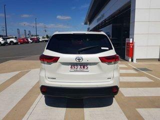 2017 Toyota Kluger GSU55R GXL AWD Crystal Pearl 8 Speed Sports Automatic Wagon.