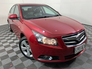 2011 Holden Cruze JG CDX Red 6 Speed Sports Automatic Sedan.