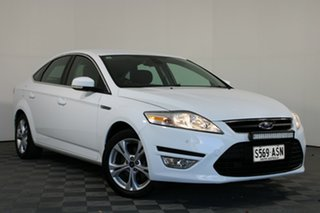 2011 Ford Mondeo MC Zetec PwrShift EcoBoost White 6 Speed Automatic Hatchback.
