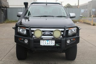 2015 Ford Ranger PX XLS 3.2 (4x4) Black 6 Speed Automatic Dual Cab Utility.