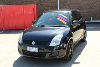 2010 Suzuki Swift EZ 07 Update Black 4 Speed Automatic Hatchback.