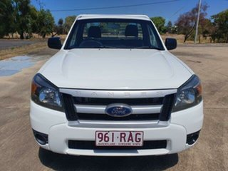 2010 Ford Ranger PK XL White 5 Speed Manual.