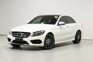2017 Mercedes-Benz C300 205 MY17.5 Diamond White 9 Speed Automatic G-Tronic Sedan.