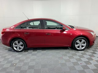 2011 Holden Cruze JG CDX Red 6 Speed Sports Automatic Sedan