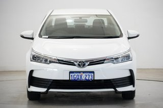 2018 Toyota Corolla ZRE172R Ascent S-CVT White 7 Speed Constant Variable Sedan.